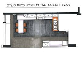 design my kitchen layout home design ideas sealed man my first interior design coloured perspective layout