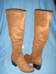 womens size 12 cognac boots s brash cognac tinley the knee boots size 12 ebay