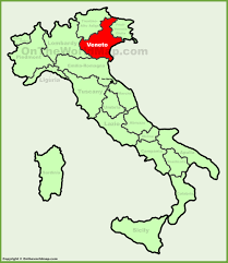 Map Of Sicily And Italy by Veneto Location On The Italy Map