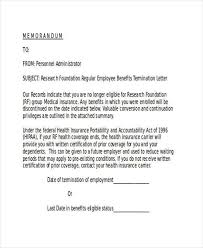 medical termination letter free termination letter template 11