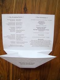 cheap wedding program the wedding program with a built in pocket for confetti or