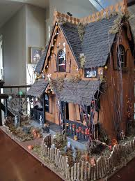 spooky house decorations for halloween miniature haunted house