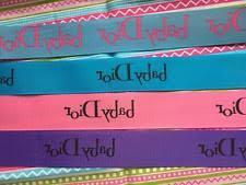 designer ribbon designer ribbon baby ebay