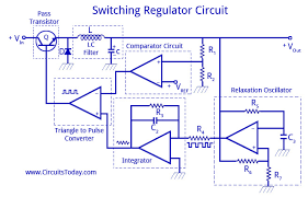 ic voltage regulators with circuit diagram design u0026 theory