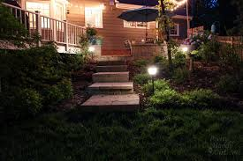 how to install landscape lights and repel mosquitoes pretty