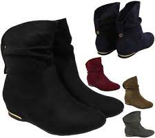womens boots marks and spencer womens wedge boots ebay