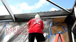 Painting Aluminum Screen Enclosures by Tampa Pool Enclosure Painting And Rescreen Youtube