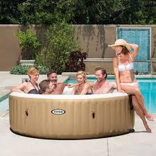 Jacuzzi Price Amazon Com Intex 85in Purespa Portable Bubble Massage Spa Set