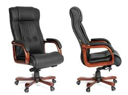 luxury leather office chair back office icon high back reclining