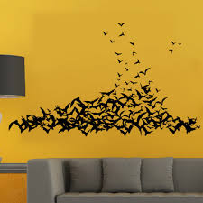 halloween bat wallpaper compare prices on bat decals online shopping buy low price bat