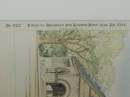 New London Ct Map Public Library New London Ct 1891 Shepley Rutan U0026 Coolidge