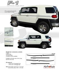 f1 vinyl graphics toyota fj cruiser decals pin stripes