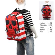 Flag Backpack Vn 2016 New Backpack For Teenagers Girls Boys Bags Punk