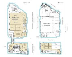floor plans for the vancouver island conference centre