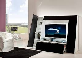 Wall Unit Furniture Appliances Modern And Futuristic Entertainment Unit With Simple