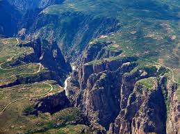 black canyon in the gunnison national park hiking and rafting