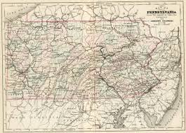 Map Of Penn State by 1880 U0027s Pennsylvania Maps