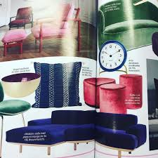 magazin sofa our sofa reason in blue velvet is here shown in the womens magazin