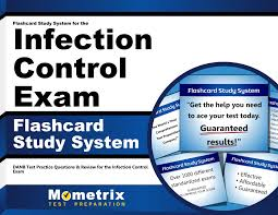 flashcard study system for the infection control exam danb test