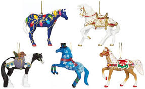 trail of the painted ponies 2015 ornament set