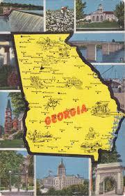 Kansas State Map Map Postcards Postcard Roundup