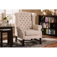 linen club chair sussex beige linen club chair free shipping today overstock
