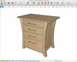 Mission Style Nightstand Plans Mission Nightstand With A Twist