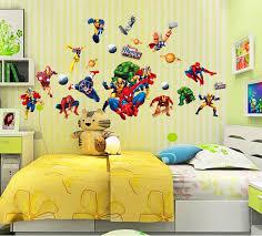 home decor kids new avenger wall sticker cartoon spider man decals home decor kids