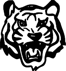 tiger black face coloring page wecoloringpage