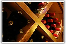 why we dig diamond wine racks in wine cellars
