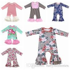 fall 2017 baby pajamas one baby rompers