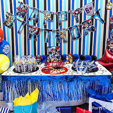 transformers birthday decorations transformers favors table idea decorating ideas transformers