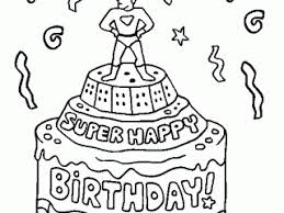 coloring birthday card printable happy birthday cards coloring pages printable 16 happy birthday