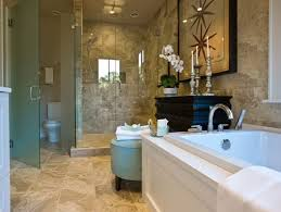 artistic master bathroom design using natural stones the home