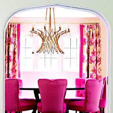 Pink Dining Room Chairs Lighting Ideas Great Chandeliers Traditional Home