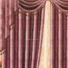 polyester gemustert lila schlafzimmer verdunkelungsvorhang