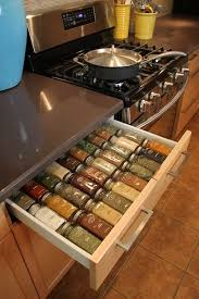 In Drawer Spice Racks How To Make A Custom Spice Rack Drawer Organizer