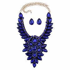 boho statement necklace images Boho statement necklace pendant set haute collection nola jpg