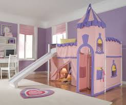 ne kids princess castle loft bed kids playhouse bed princesses low