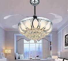 Chandelier Ceiling Fans With Lights Luxury Modern Chandelier Ceiling Fan L Folding Ceiling