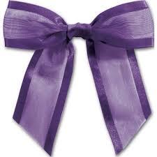 pre bows purple pre organza bow bow 244 26 bags bows