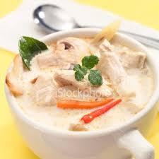 bouquin de cuisine soup tom kha note la photo n est pas de moi mais extraite d
