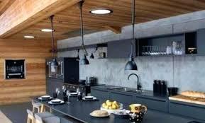 cuisine chalet bois le chalet de montagne daccoration cuisine chalet contemporain 89