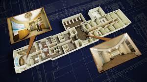 ocean crest spa hilton resort ca u2022 3d floor plan resort u2022 align3d