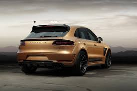porsche matte white topcar u0027s widebody porsche macan looks more dramatic on matte black