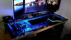 Gaming Station Computer Desk Brilliant Gamer Computer Desk Throughout 25 Best Gaming Desks Of
