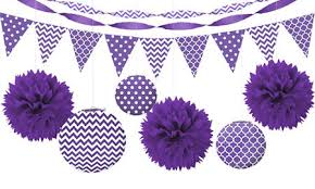 purple decorations purple balloons banners confetti party city
