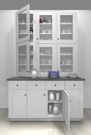 Como Tener Una Fantastica Alacena Ikea Con Un Adel And Butcher Block China Cabinet For Dining Room For The