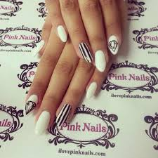 black nails with designs how you can do it at home pictures