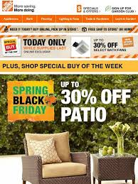 when is home depot 2016 spring black friday home depot spring black friday sneak peek promo code inside
